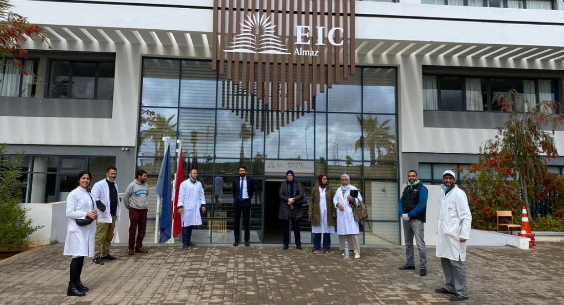 Opération don du sang à l'EIC Almaz