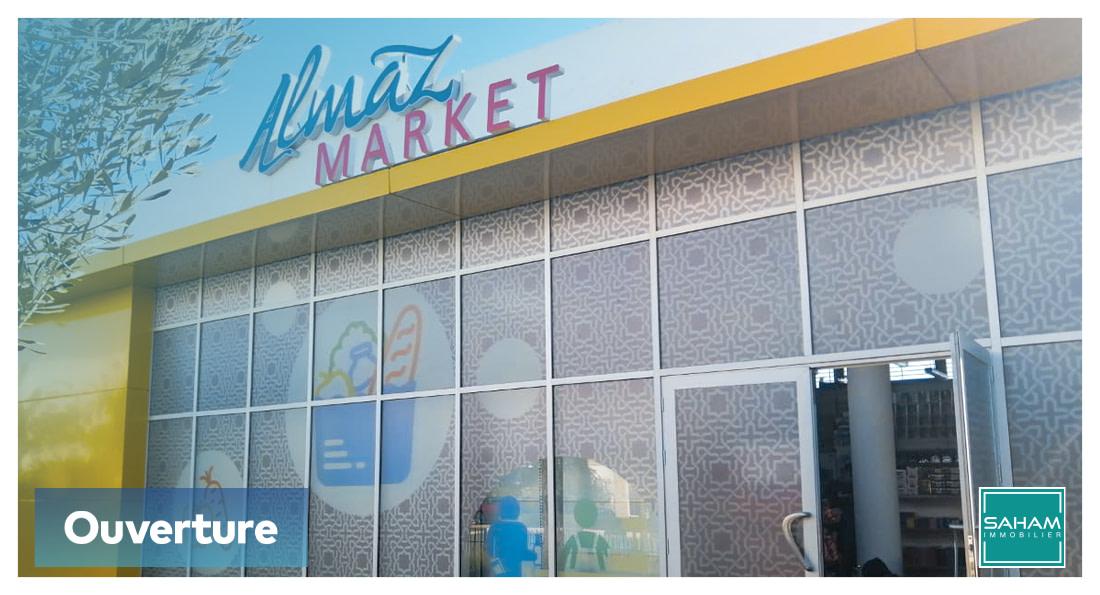 Ouverture de la nouvelle supérette Almaz Market