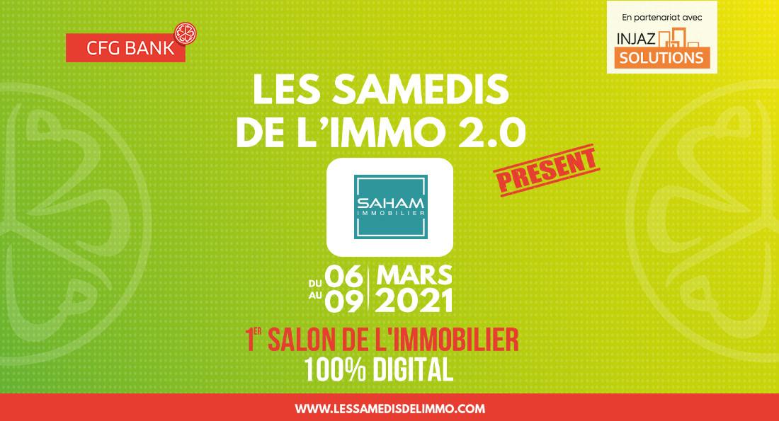 Saham Immobilier est aux Samedis de l'Immo 2.0