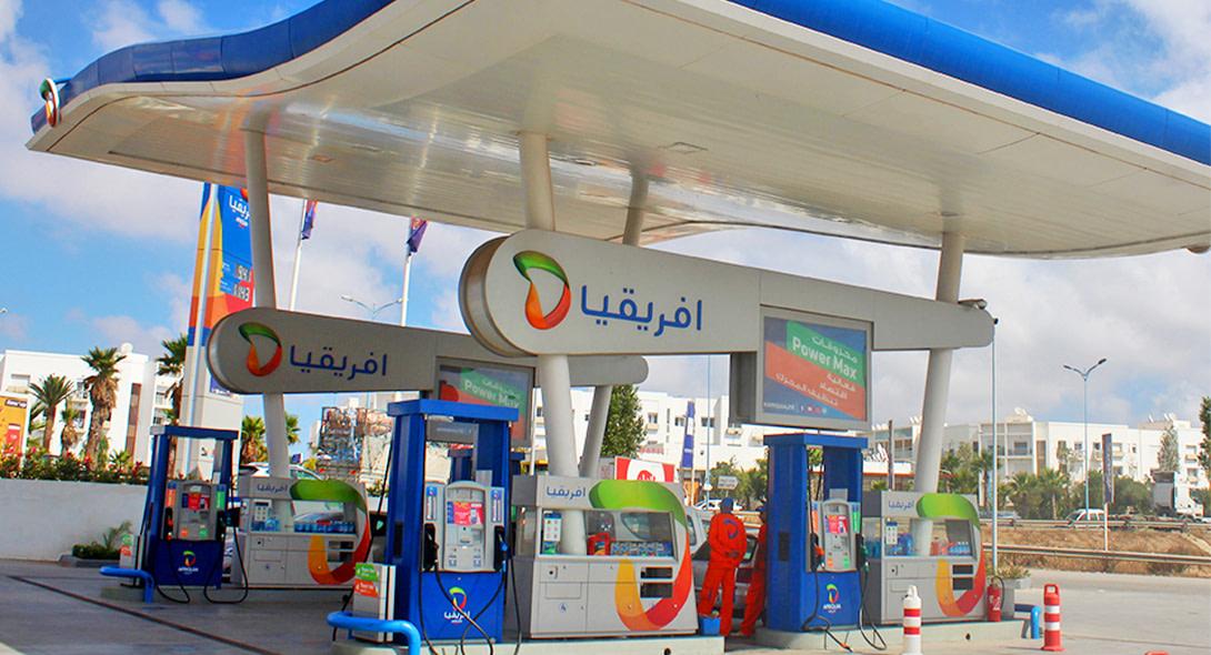 Ouverture de la nouvelle station-service Almaz